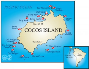 Cocos Island dive sites