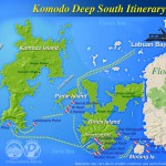 Komodo Deep South itinerary