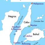 Philippine Siren Malapascua & The Visayas itinerary map