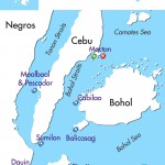 Philippine Siren Southern Visayas itinerary map
