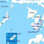 Philippine Siren Tubbataha and More itinerary map