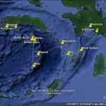 Banda Sea itinerary Ambon to Kaimana