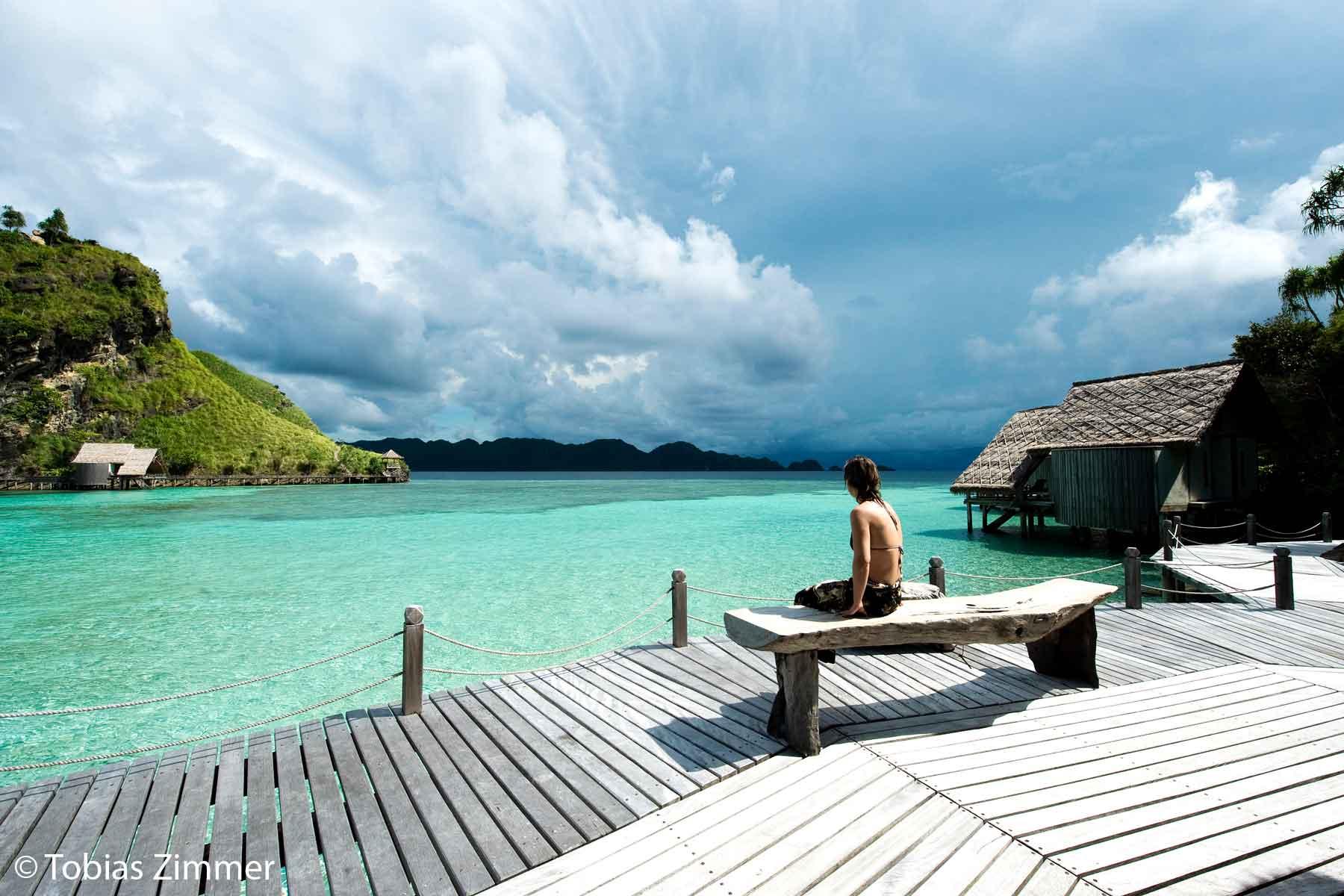 Misool eco resort in raja ampat indonesia scuba diving holidays equator diving - Raja ampat dive resort ...
