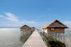 Papuan Water Cottages