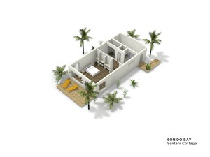 Sentani Cottage layout