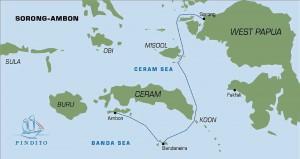 Pindito Banda Sea & Raja Ampat itinerary
