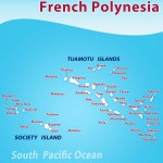Tuamotu Islands map