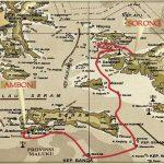 Arenui Banda Sea & Raja Ampat itinerary map