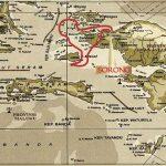 Arenui Raja Ampat itinerary map