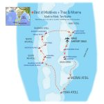 Best of Maldives + Thaa & Meemu map
