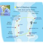Best of Maldives map