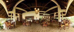 Amun ini Resort restaurant