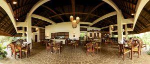 Amun ini Resort restaurant