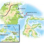 Derawan Islands map 1
