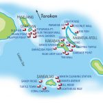 Derawan Islands map 2
