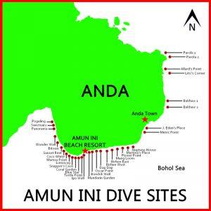 Amun ini Resort dive sites